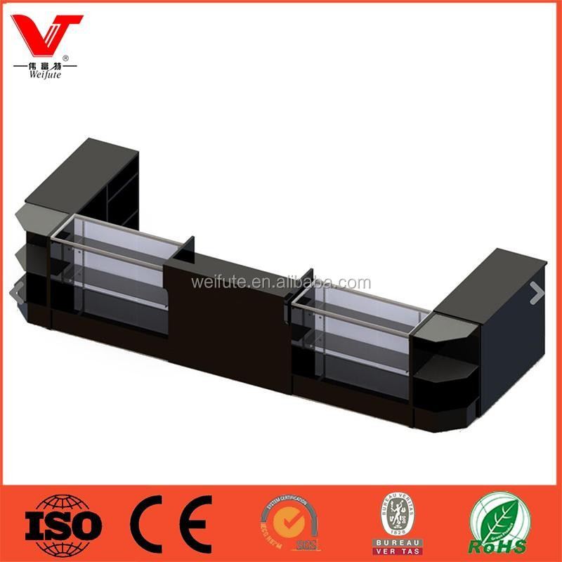 bois comptoir caisse de table design pour boutique caisse de sortie id de produit 60205249332. Black Bedroom Furniture Sets. Home Design Ideas