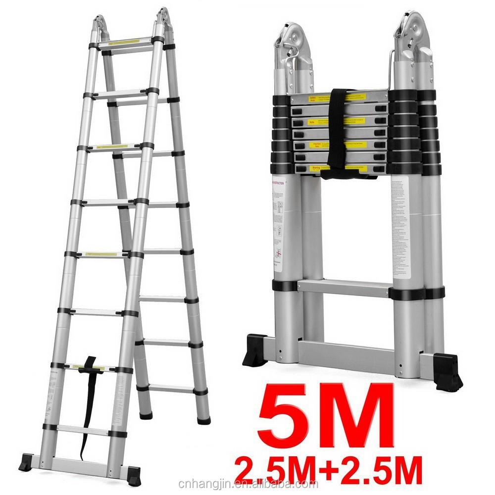 ift tarafl 3 1 tip ok ama l teleskopik merdiven 5m 2 5 denge ubu u merdivenler. Black Bedroom Furniture Sets. Home Design Ideas