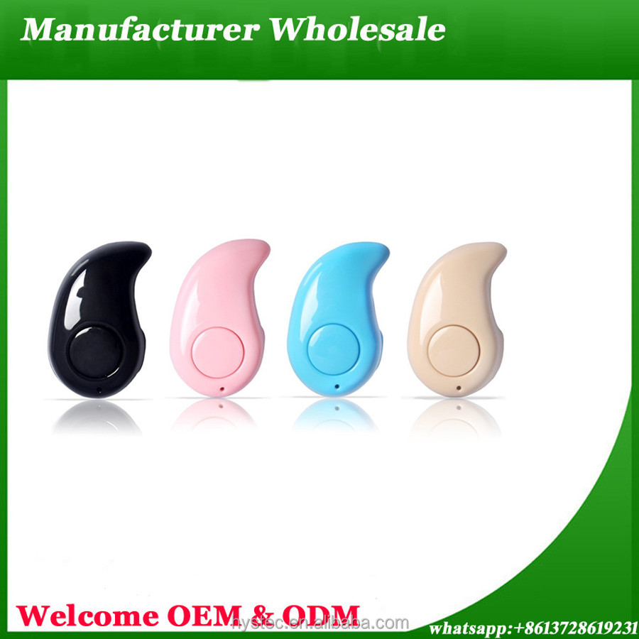 Free Sample Wholesale S530 mini bluetooth stereo invisible earphone wireless bluetooth headset bluetooth headphones
