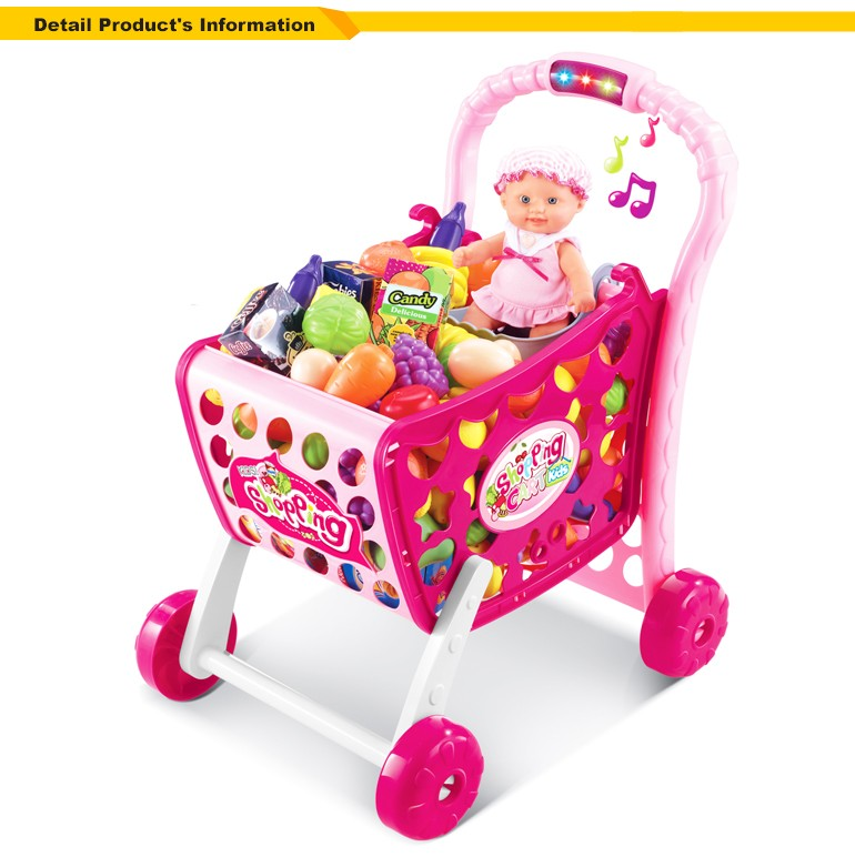 plastic 3 in 1 kids supermarket shopping cart toy oc0254445 buy kids supermarket toy plastic. Black Bedroom Furniture Sets. Home Design Ideas