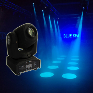 Party disco dj stage light 30w dmx mini gobo projector spot led moving head