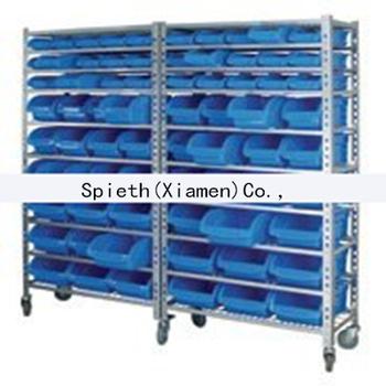 commercial shelf plastic garage storage bins containers rack for rh alibaba com plastic garage shelves costco plastic garage storage cabinets