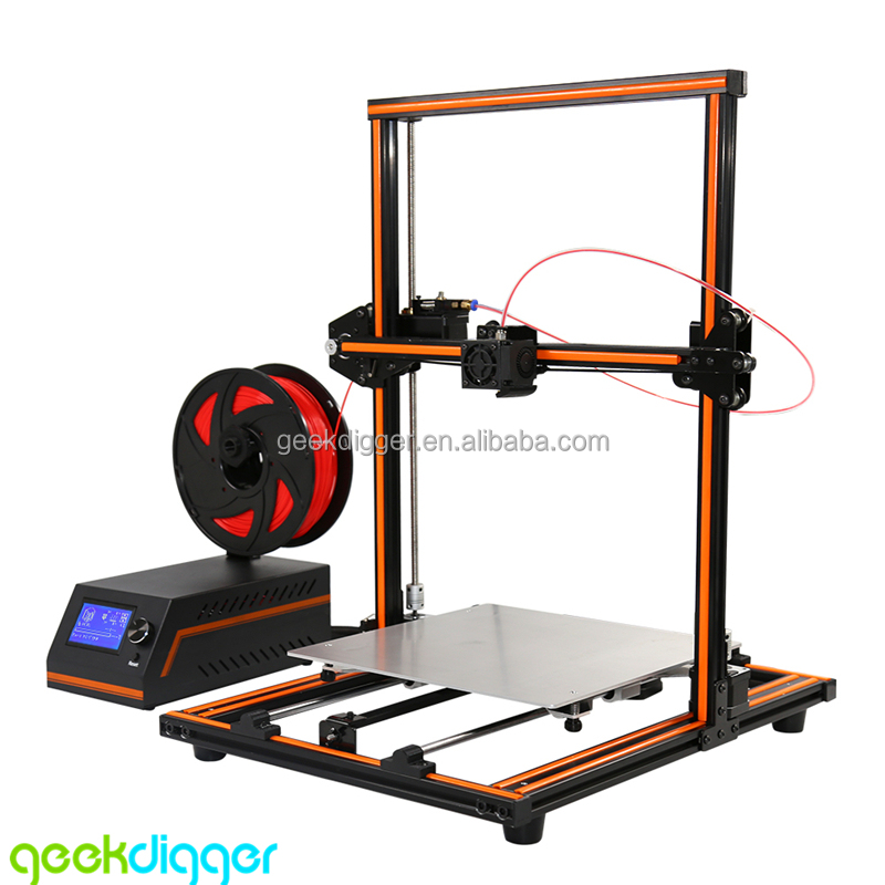 Wholesale Anet E12 Largest Printing Size 3D Printer with Easy Assembled Metal Frame