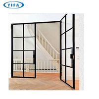 White One Sided Single Pane Slim Frame Thin Frame Small Aluminium Outdoor Grill Window And Door