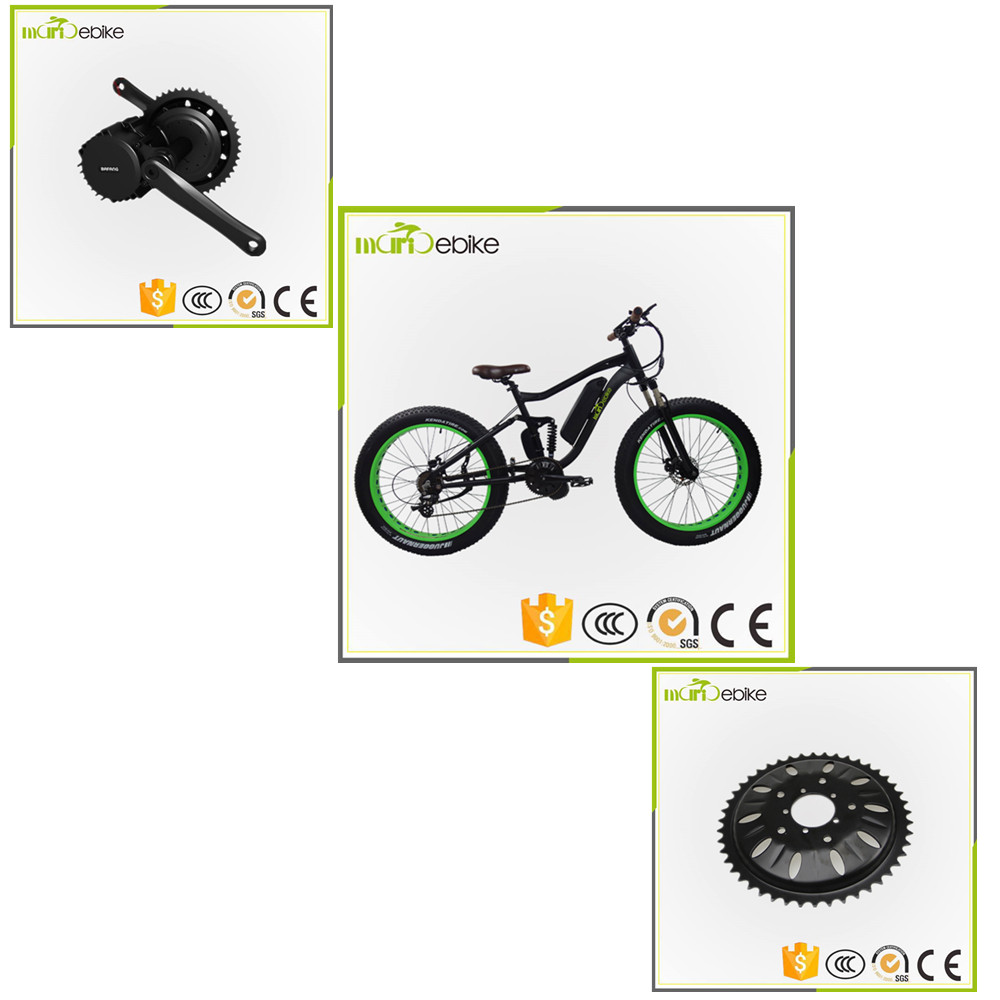 Snow ebike 750w diy 36v electric bike conversion kit KT 36V LCD3 display