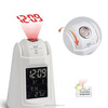Cube Calendar Digital Voice Projector Touch LED Light Alarm Clock