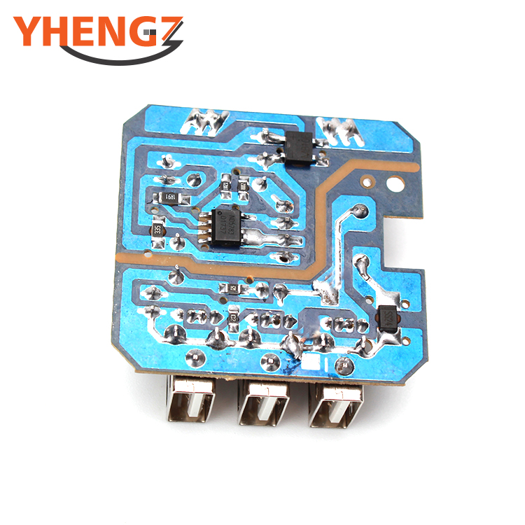 Factory SMT Pcb Assembly 3USB Mobile Phone Charge Customized Power Adapter Control Board PCBA Maker Circuit Board