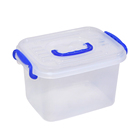 Durable Hot Sales Transparent Kids Toy Lego Storage Box