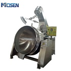 Natural Gas Jacket Kettle With Mixer for Bean Paste Cooking