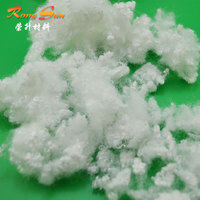 25D Recycle solid polyester staple fiber for mattress