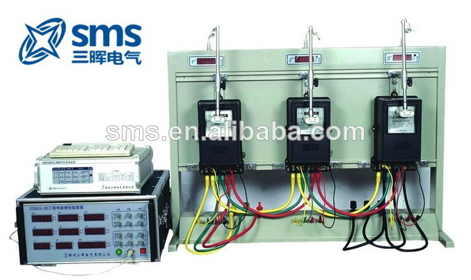 3 Meter Positions Portable Three Phase Energy Meter Calibrating Bench Test Device
