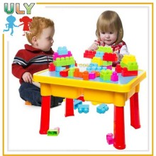 Wholesale Colorful Children Educational Block Table Toys Kids Plastic Building Blocks Toys