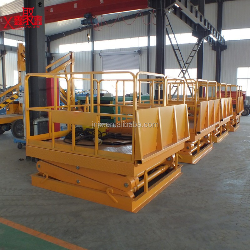 Electric scissor lift hydraulic vertical lift with CE