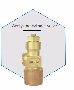 high pressure oxygen gas cylinder brass valve with certificate
