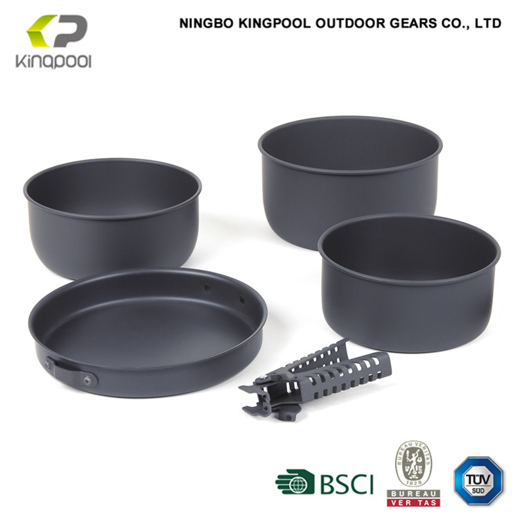 all kinds of outdoor five star cookware