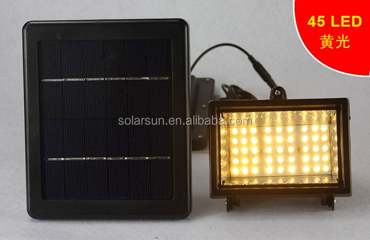 Solar Lights Outdoor with Motion Sensor Detector LED Wall Flood Light Waterproof Security Lighting Outdoor