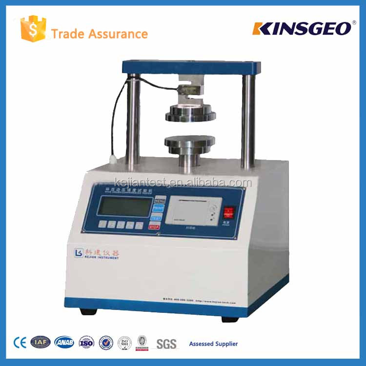 KJ-8220 Edge ring crush Strength tester