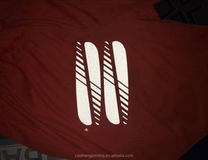 Custom T-shirt heat transfer reflective print