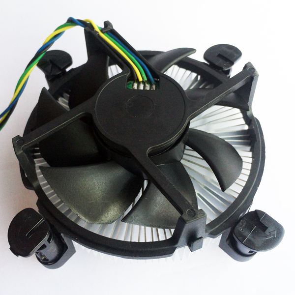 OEM ODM round cpu heat sink cooling with radiator fan