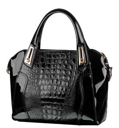 Get Quotations · 2015 desigual Women Genuine Leather Handbags Designer  Crocodile Bag Crocodile Bag Shoulder Tassel Bolsas Femininas bolsos 72feaa431c