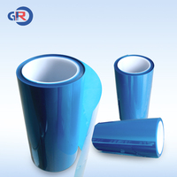 glued blue pe protective film for surface protection