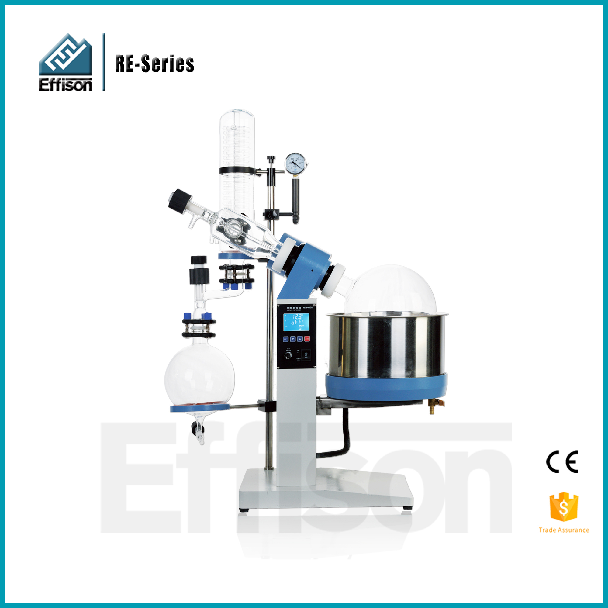 CBD extraction Ethanol remove Rotary Evaporator 50l with Vacuum Pump and Chiller