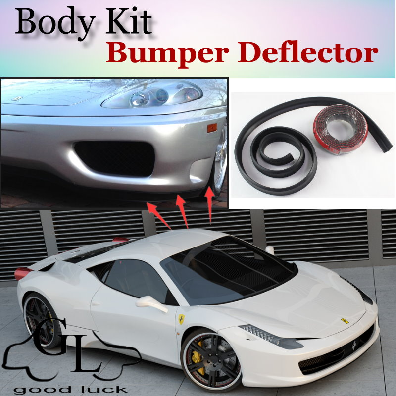 Ferrari Front: Bumper Lip Deflector Lips For Ferrari 458 Italia 2009~2015