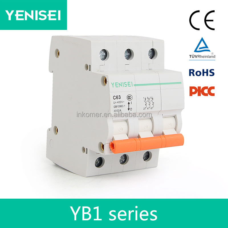 30ma 15ma 63a 3 phase elcb with best price rating