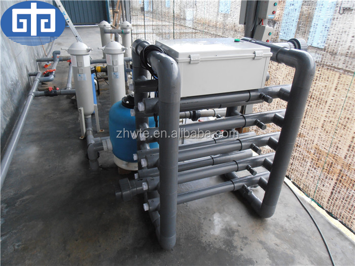 60m3/h PVC UV Sterilizer For Aquarium
