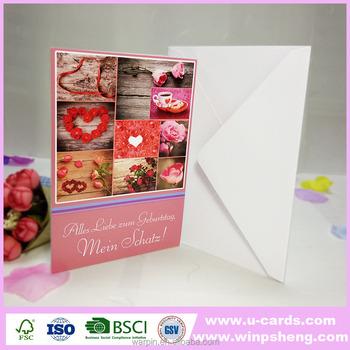 Handmade Decoration Greeting Card Oversized Greeting Cards Popular