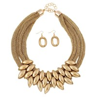 Dubai and african gold plating jewelry sets