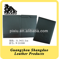 Selling Well Office Supplies Qualitied Leather File Folder