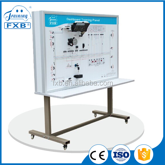 Automobile Electric Meter System Training Bench lab electronic training kits