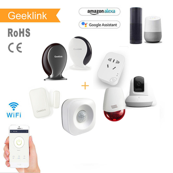 Geeklink Automatic wifi Home universal personal alarm security protection products sets smart home automation system