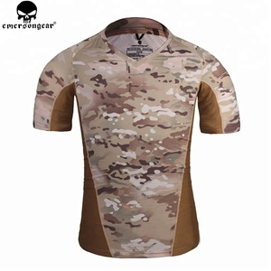 wholesale cheap short sleeve cotton jessey blank camo multicam camouflage t shirt custom military t shirt