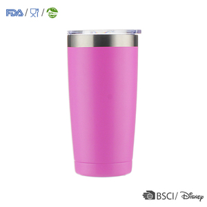 Customized health vacuum cup coffee mugs wholesale glitter tumbler certified