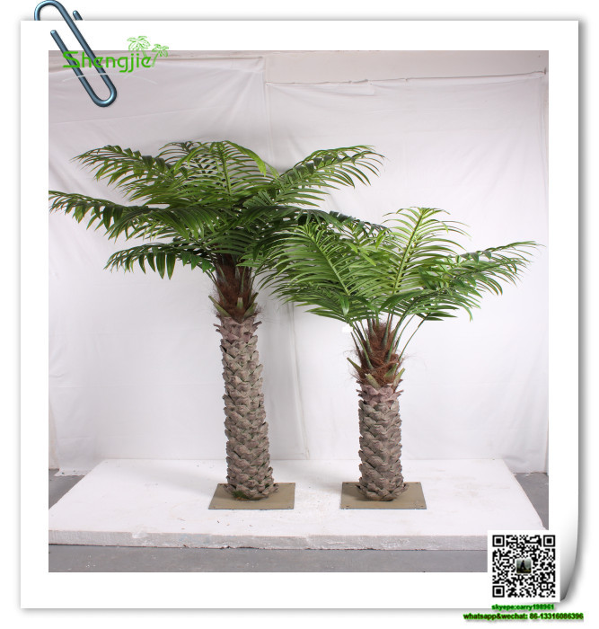 Real Indoor Trees Part - 18: SJZLS-02 Ornamental Indoor Plants Real Bark Tree Trunk Palm Tree Artificial  Mini Palm Trees