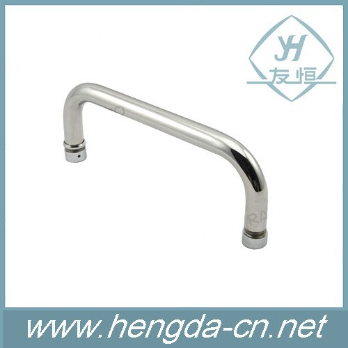 High polished stainless steel shower glass door <strong>handle</strong>