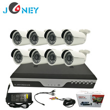 8CH DVR Kit/CCTV DVR System /Security Camera Kit With IP66 waterproof bullet cameras