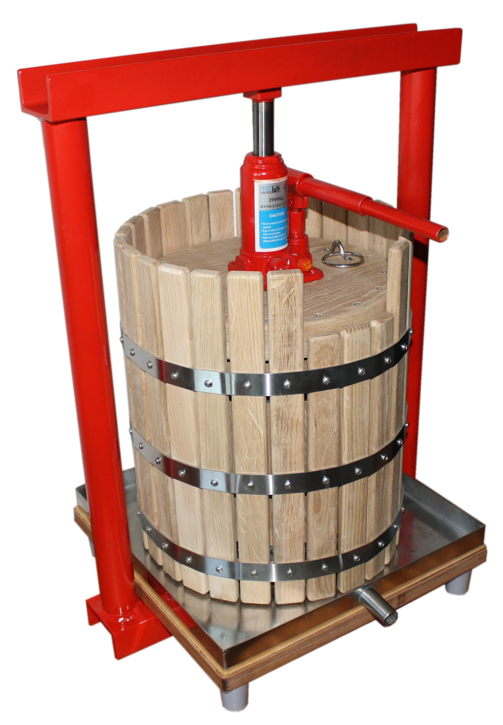 Hydraulic press GBP-30 - juicer for apples, grapes, berries, fruit, wine, cider