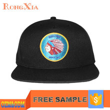Personalized Image Logo 5 Panel Custom Embroidered Mens Snapback Hat