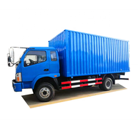China 4x2 mini insulated electric Cargo Truck with cheap price for sale