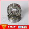 China manufacturer HGF deep groove ball bearing 60001 rs z2