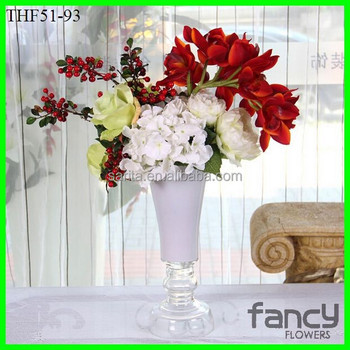 Artificial flowers with glass vases for flower arrangements buy artificial flowers with glass vases for flower arrangements mightylinksfo