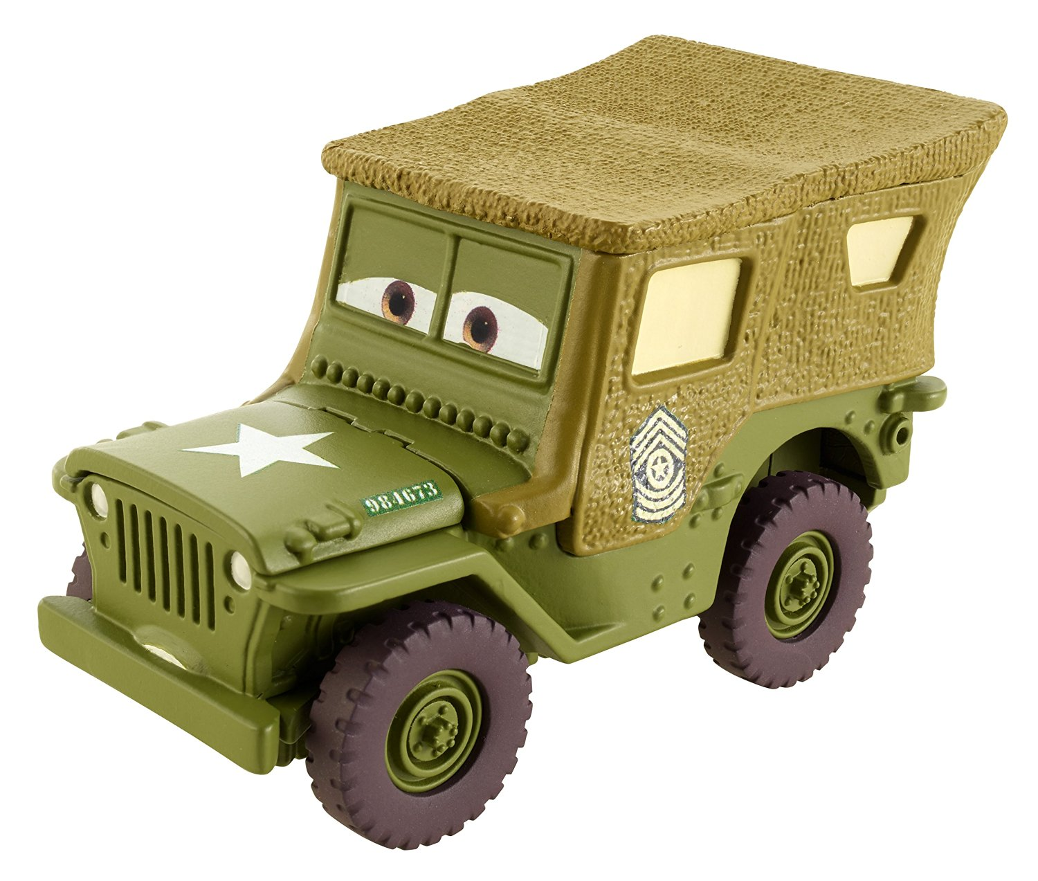 Disney/Pixar Cars Precision Series Sarge Premium Die-cast Car