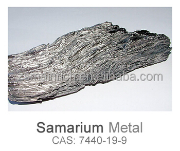 Hot Sale Tombarthite Samarium Metal Of Rare Earth 99.99 ...