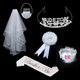 Hen party Bride to be supplies for,Tiaras, Veils, party accessories for Bachelorette party decorations