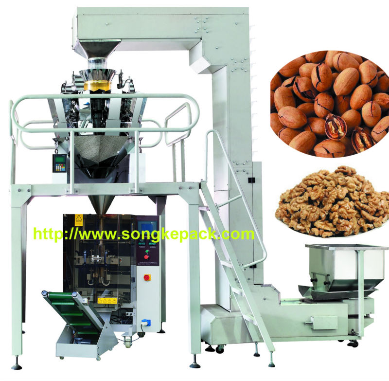 walnut kernel automatic packaging machine system