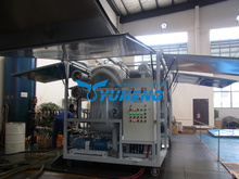 Vacuum Transformer oil dehydration, degassing and filtration plant