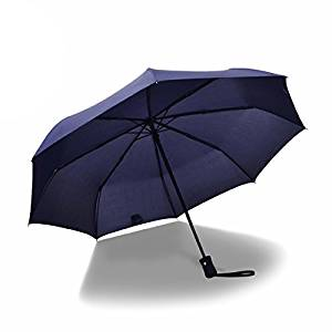 Reverse Inverted Windproof Eagle American Bird Umbrella Double Layer Inside Out Folding Umbrella Upside Down Umbrellas with C-Shaped Handle for Women and Men